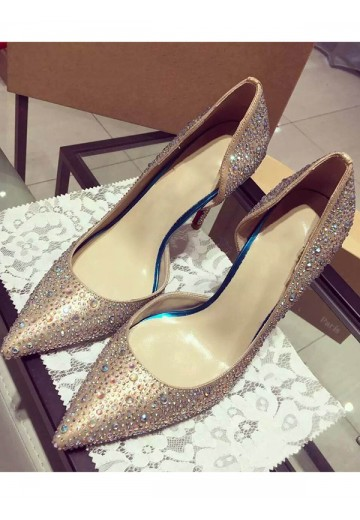 Cone Heel Party Shoes S3LSDN050403LF