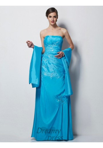 Sweetheart Taffeta Floor-Length Mother of the Bride Dress