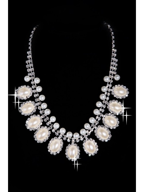Wedding Headpieces Necklaces Earrings Set ZDRESS4025