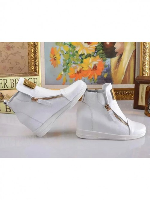 Women's Closed Toe Cattlehide Leather Ankle Boots