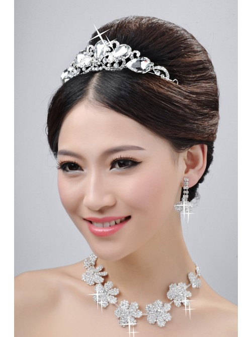 Wedding Headpieces Necklaces Earrings Set ZDRESS3879