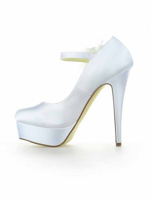 Platform Heel Wedding Shoes SW115201221I