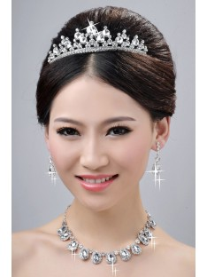 Wedding Headpieces Necklaces Earrings Set ZDRESS4022