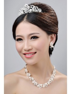 Wedding Headpieces Necklaces Earrings Set ZDRESS4031