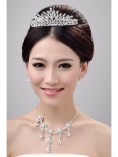 Wedding Headpieces Necklaces Earrings Set ZDRESS4024