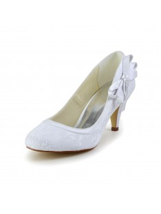 Amazing Cone Heel Wedding Shoes S5594946