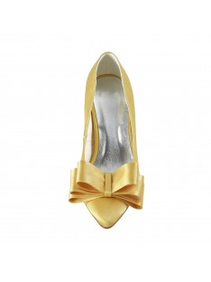 Spool Heel Wedding Shoes S5A3112