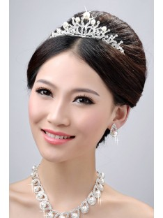 Wedding Headpieces Necklaces Earrings Set ZDRESS3984
