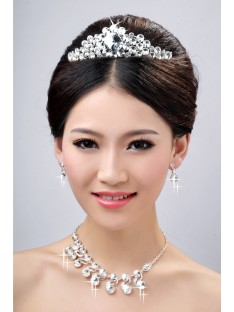 Wedding Headpieces Necklaces Earrings Set ZDRESS3985