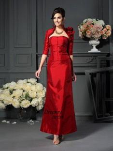 Fashion Taffeta 1/2 Sleeves Hand-Made Flower Special Occasion Wrap