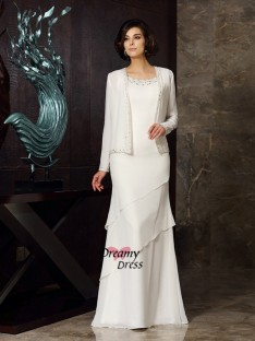 Fashion Chiffon Long Sleeves Special Occasion Wrap