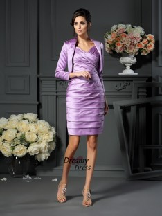 Fashion Satin 3/4 Sleeves Special Occasion Wrap