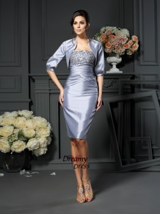 Fashion Taffeta 1/2 Sleeves Special Occasion Wrap
