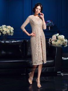 Fashion 3/4 Sleeves Lace Special Occasion Wrap