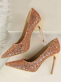 Stiletto Heel Closed Toe High Heels