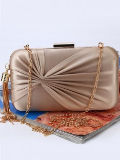 Ruched Evening/Party Handbags
