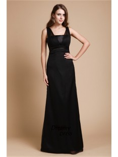 Sheath Long Chiffon Dress