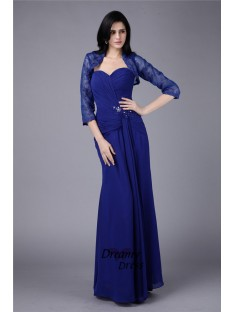 Sheath Sweetheart Chiffon Mother of the Bride Dress