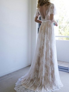 a681afcd9084f Sash/Ribbon/Belt Wedding Dresses Pretoria - DreamyDress