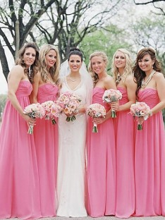 67884c5965d A-Line Sweetheart Chiffon Floor-Length Bridesmaid Dress