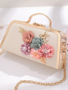 Evening/Party Handbags with Flowers