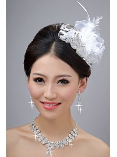 Wedding Headpieces Necklaces Earrings Set ZDRESS3986