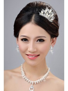 Wedding Headpieces Necklaces Earrings Set ZDRESS3996