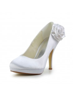 Elegant Heel Pumps Wedding Shoes S43701F