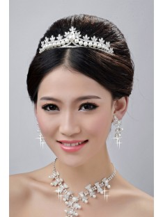 Wedding Headpieces Necklaces Earrings Set ZDRESS4004