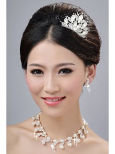Wedding Headpieces Necklaces Earrings Set ZDRESS4007