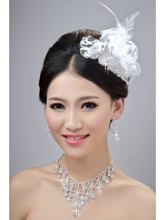 Wedding Headpieces Necklaces Earrings Set ZDRESS3990