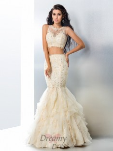 Mermaid Tulle Long Dress