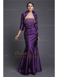 Stunning Taffeta 3/4 Sleeves JacketWedding Wrap