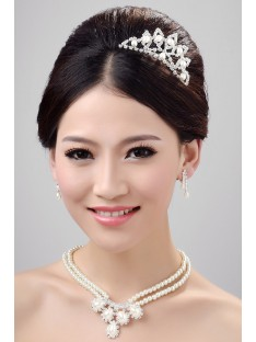 Wedding Headpieces Necklaces Earrings Set ZDRESS3993