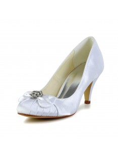 Cone Heel Wedding Shoes S4594942