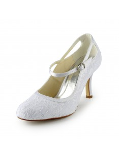 Pretty Heel Pumps Wedding Shoes S1A31B13