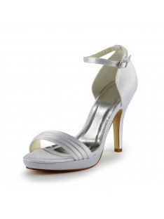 Pretty Heel Sandals Wedding Shoes S137036