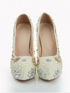Heel Platform Wedding Shoes S1LSDN1078LF
