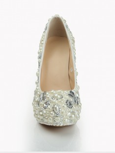 Heel Platform Wedding Shoes S1LSDN1079LF