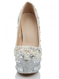 Heel Platform Wedding Shoes s2lsdn1139lf