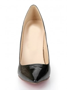 Black Heel Office Shoes S2LSDN1171LF