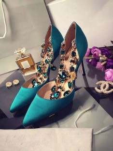 Heel Chain Party Shoes S3LSDN050415LF