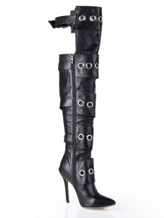 Heel Knee High Boots S5LSDN1207LF