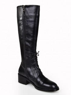 Kitten Heel Knee High Boots S5LSDN1295LF