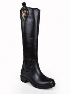 Kitten Heel Knee High Boots S5LSDN1296LF