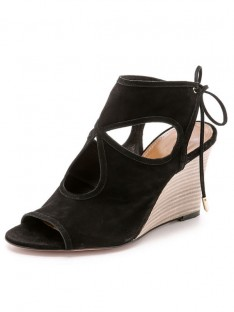 Wedge Heel Suede Sandal Ankle Boots S5LSDN52528LF