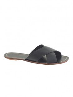 Black Sandal Slippers S5LSDN52544LF