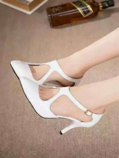 Cone Heel Sandal Office Shoes S5LSDN52549LF