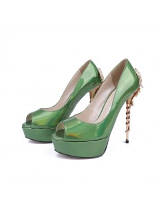 Heel Platform Party Shoes S5MA04119LF