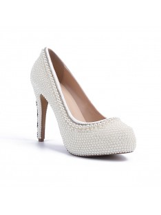 Heel Platform Wedding Shoes S5MA04133LF